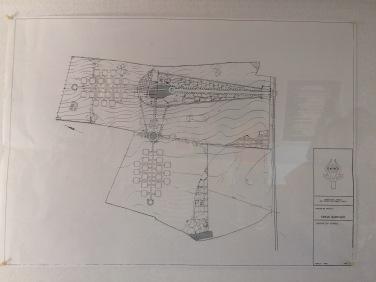 Plan for a cemetery, César Manrique